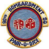 90th Bombardment Squadron, Tactical