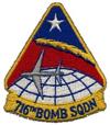 716th Bombardment Squadron, Heavy